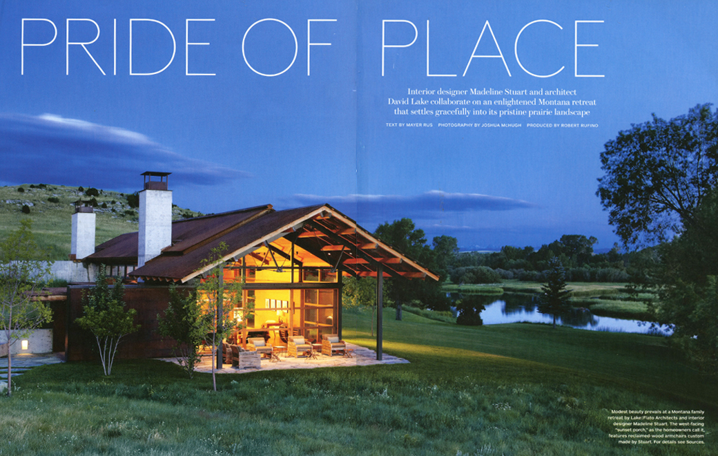 Architectural Digest Pride of Place June 2012