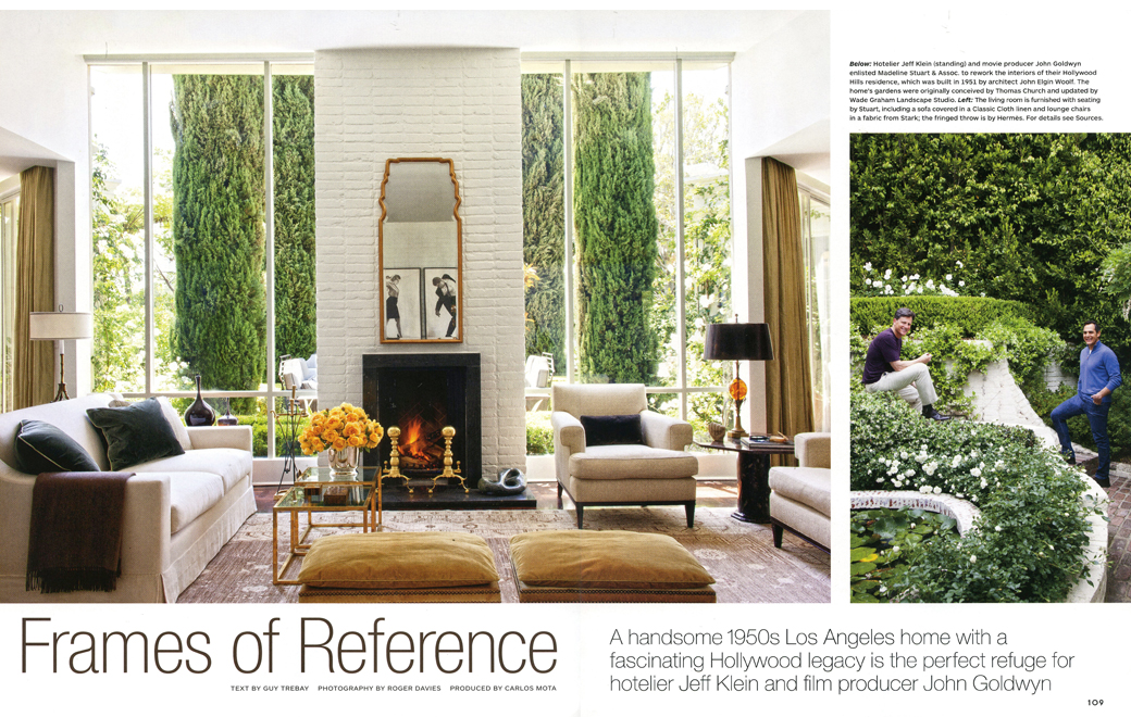 Architectural Digest Frames of Reference March 2014