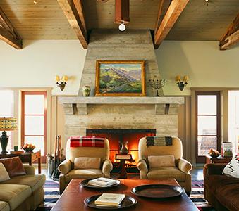 Interiors Santa Barbara Ranch Madeline Stuart