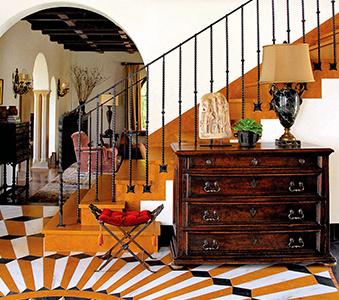 interiors - santa monica spanish | madeline stuart