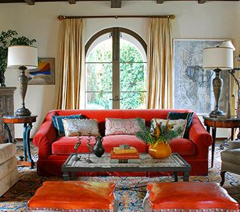 Interiors Santa Monica Spanish Madeline Stuart