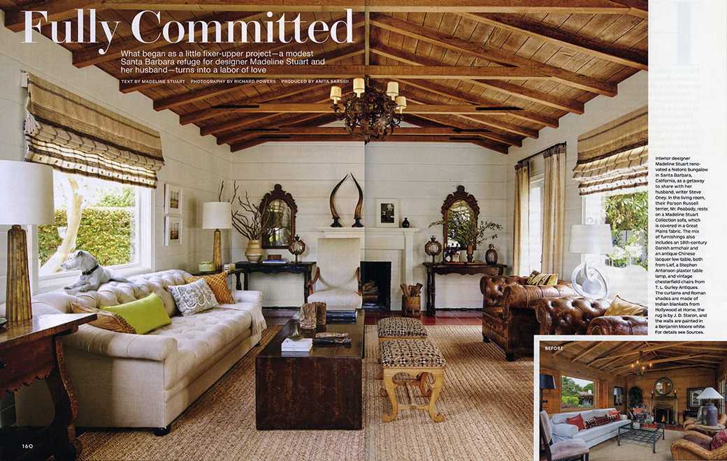 Architectural Digest Fully Committed November 2015