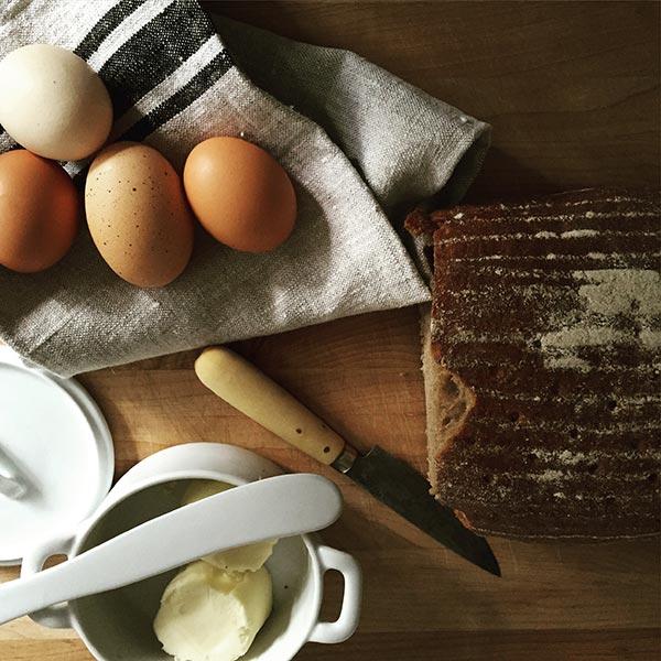 eggs-bread