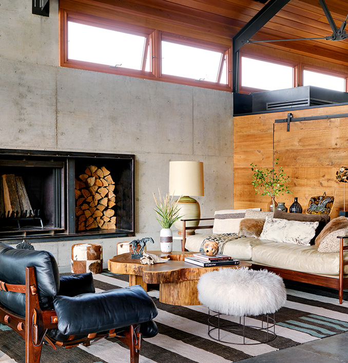 Montana Rustic Modern Ranch